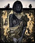 Xilografia 120x100 cm. 2013 9